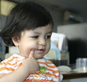 Baby Vay umur 1 tahun