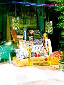 Penjual  Mercon di Medan