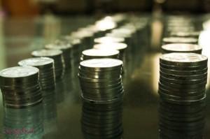 Koin-koin dari celengan si Vay