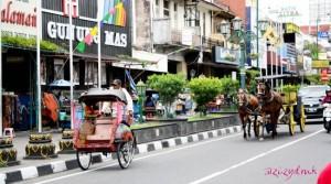 Becak dan Delman