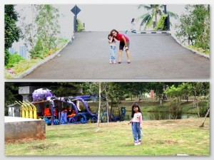 Foto-foto dulu di taman