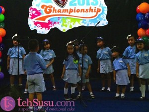 Choir Competition Kinderfield Duren Sawit