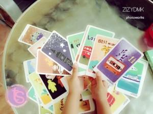 Ini dia kartu-kartunya.... lucu-lucu semua.