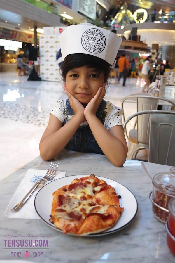 Pizza Marzano buatan Vay