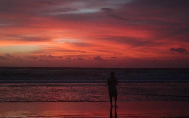 Sunset, taken from Ku De Ta