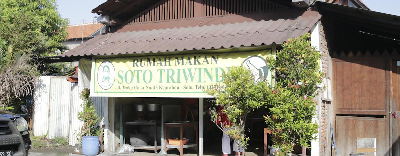 Menjajal Soto Triwindu, Favorit Pak Jokowi