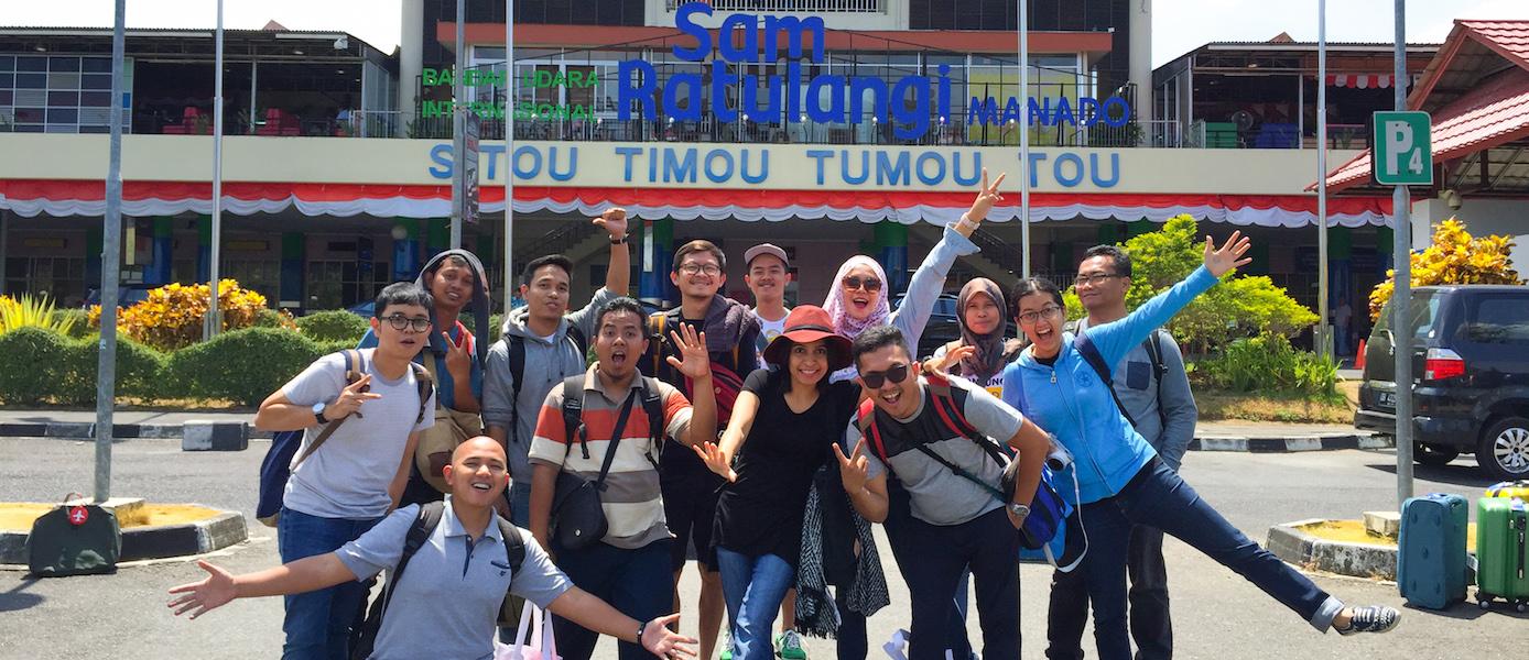 [Manado Trip] Keindahan Manado dan Nikmatnya Pisang Goreng Sambal Roa