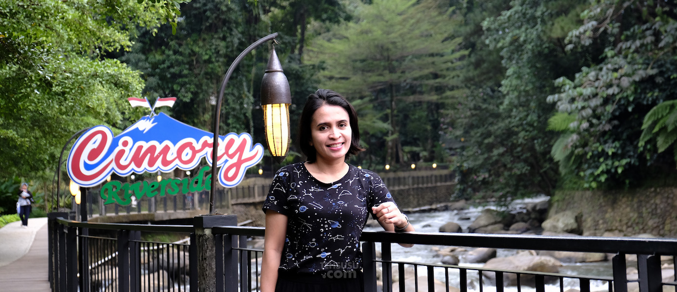 Sweet Escape ke Cimory Riverside