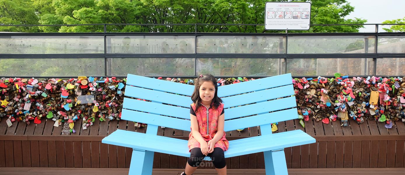 [Korea Trip] Gembok Cinta di Namsan Seoul Tower