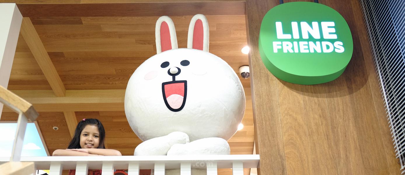 Line Friend Store & Cafe yang Tergemezz