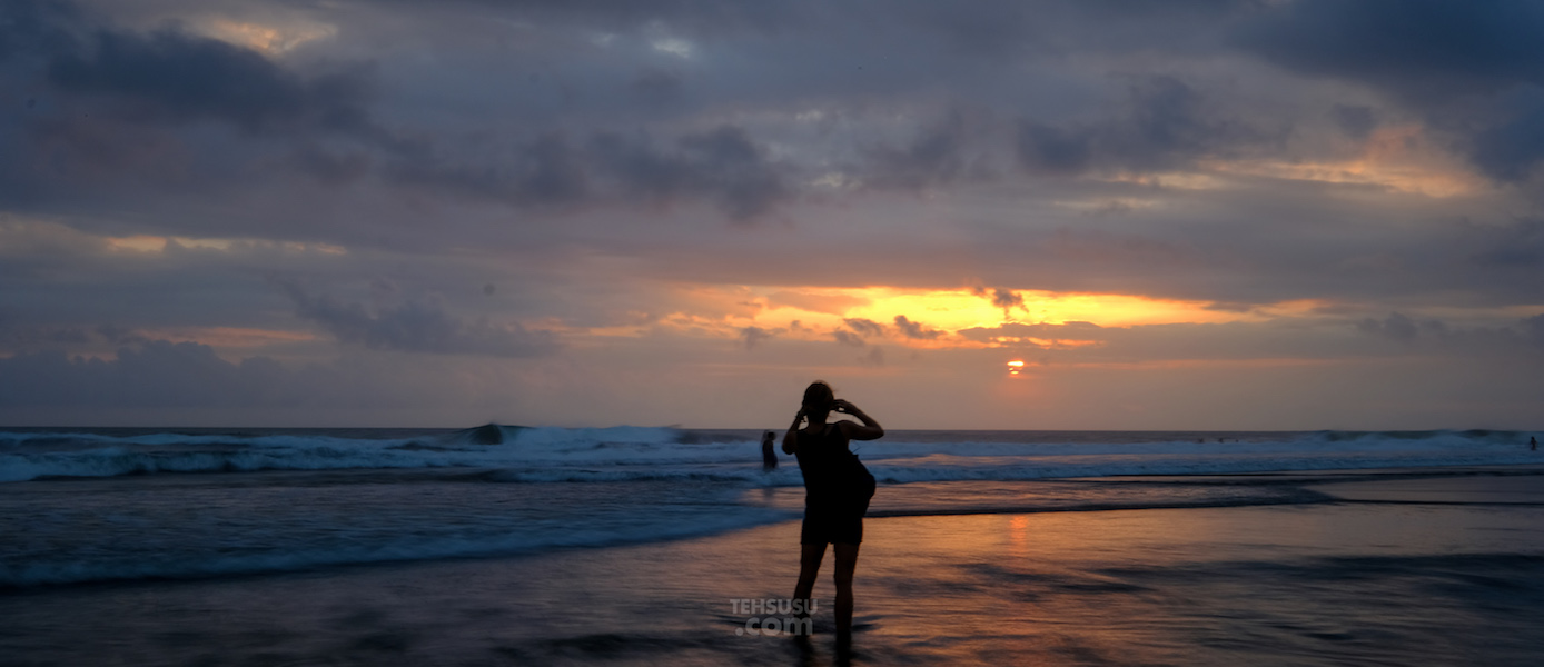 Sunset di Echo Beach, Bali