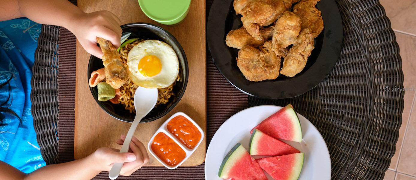 Rahasia Nafsu Makan Ada Pada Alat Makan Yang Baik