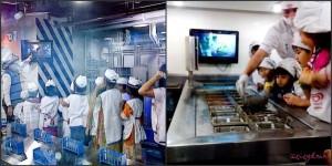 Ki: Belajar bikin susu. Ka: Bejar buat es krim. Keluar dari sini dapat gaji karena sudah bekerja di situ :)