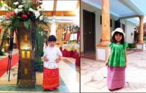 Ki: waktu pesta bou-nya Vay. Ka: waktu pesta abang sepupu Vay (all made by Opung Boru Vay)