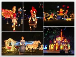 Pooh & Cinderella adalah karakter yang paling ramai disinggahi dan difoto