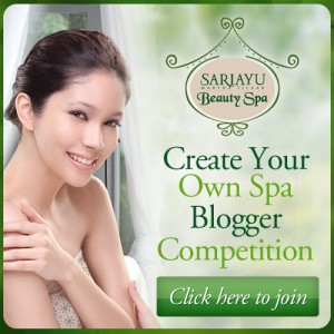 Create Your Own Spa Blogger Competition