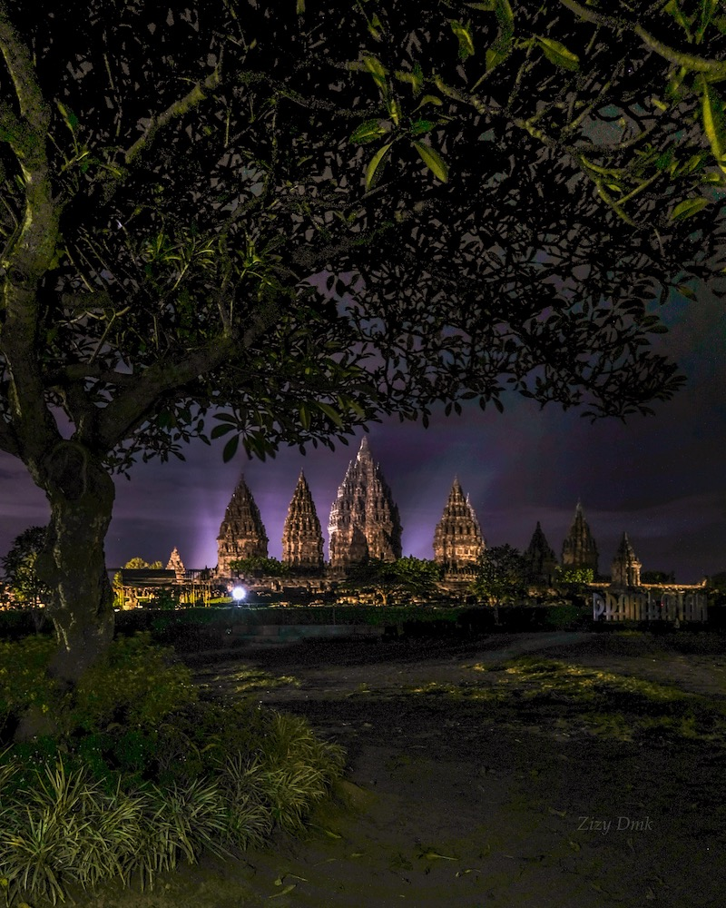 Sunset di Prambanan