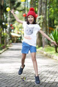 Ilustrasi anak beraktivitas fisik di Taman Safari Indonesia