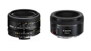 pilihan lensa 50mm