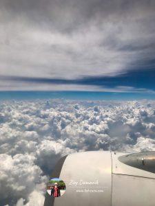 dari kabin pesawat
