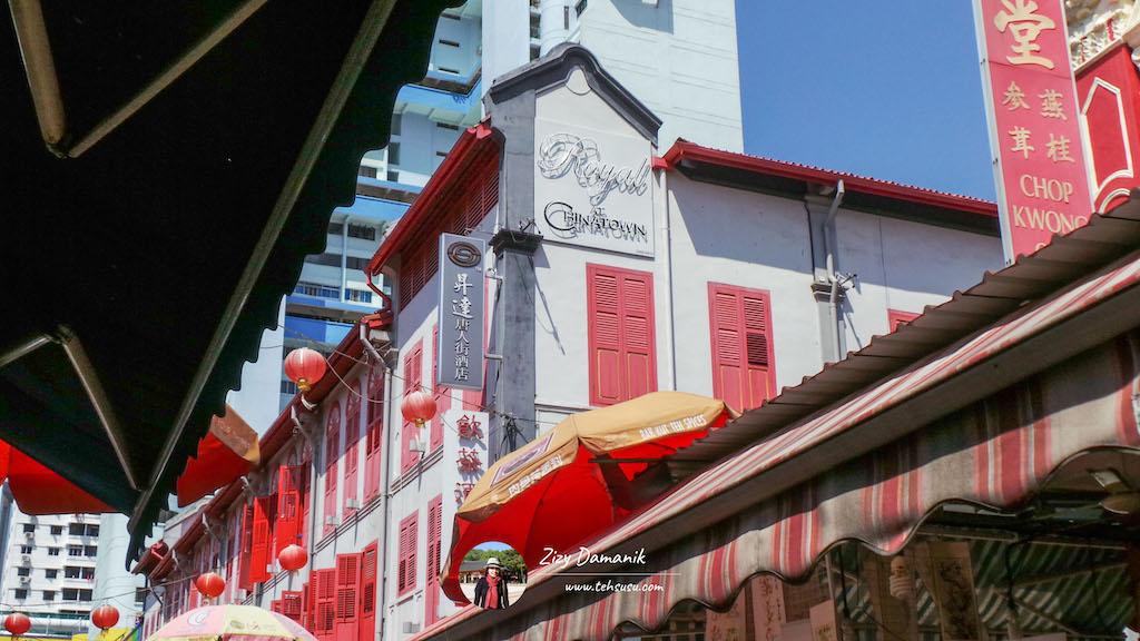 hotel di china town singapura