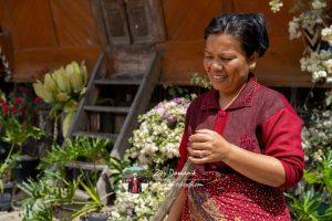 Inang Batak di Kampung Huta Siallagan