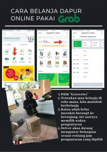 cara belanja kebutuhan dapur online di Grab