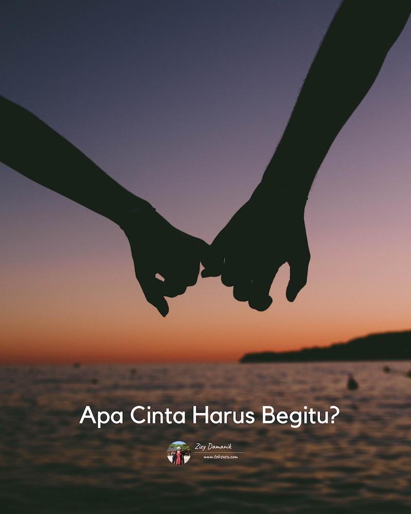Apa Cinta Harus Begitu