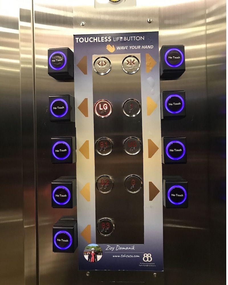 Lift Kota Kasablanka Setelah New Normal