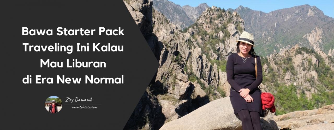 Bawa Starter Pack Traveling Ini Kalau Mau Liburan di Era New Normal
