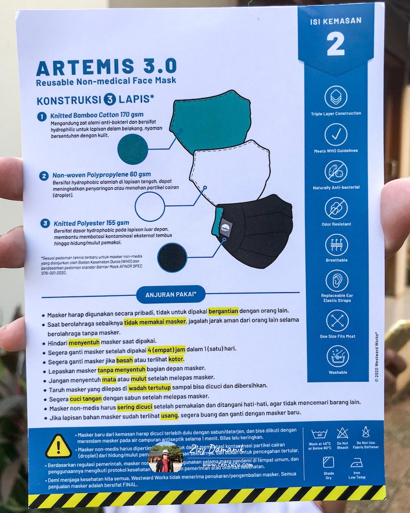 artemis 3.0 westwardworks care card