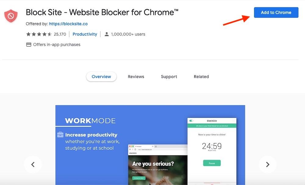 Block Site Website blocker