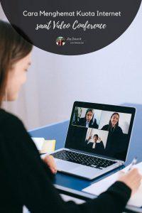 Cara Menghemat Kuota Internet saat Video Conference