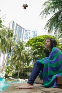 Hotel dengan fasilitas kolam renang