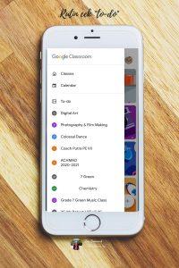 cara menggunakan google classroom dari handphone