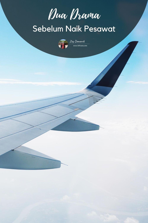 drama naik pesawat