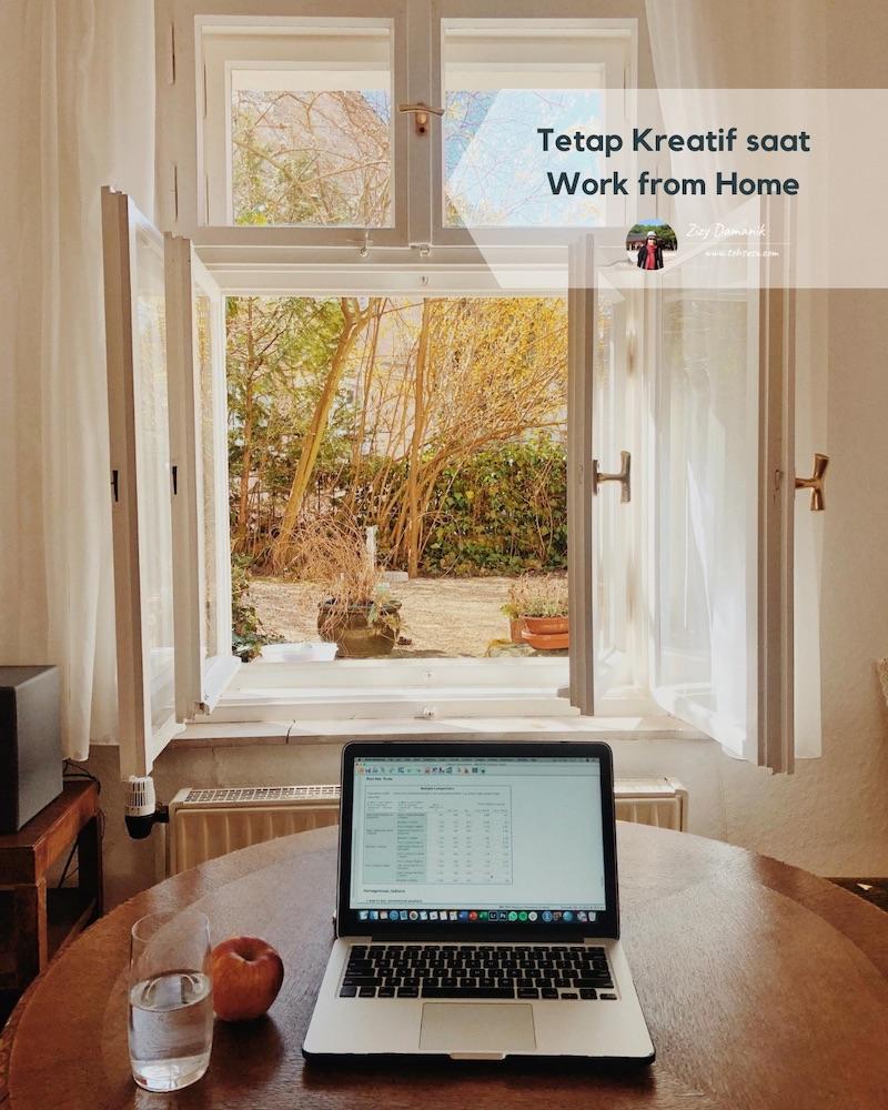 tips tetap kreatif saat work from home