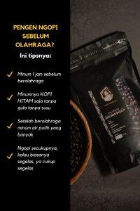 tips minum kopi sebelum olahraga