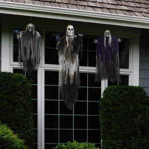 halloween skeleton ghosts