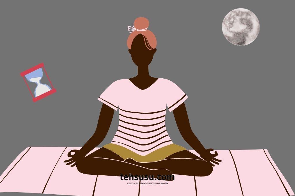 melatih kesadaran dengan meditasi