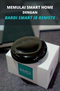 memulai smart home dengan Bardi ir remote