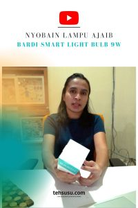 Review Bardi Smart Light Bulb 9W