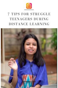 tips distance learning for teenagers