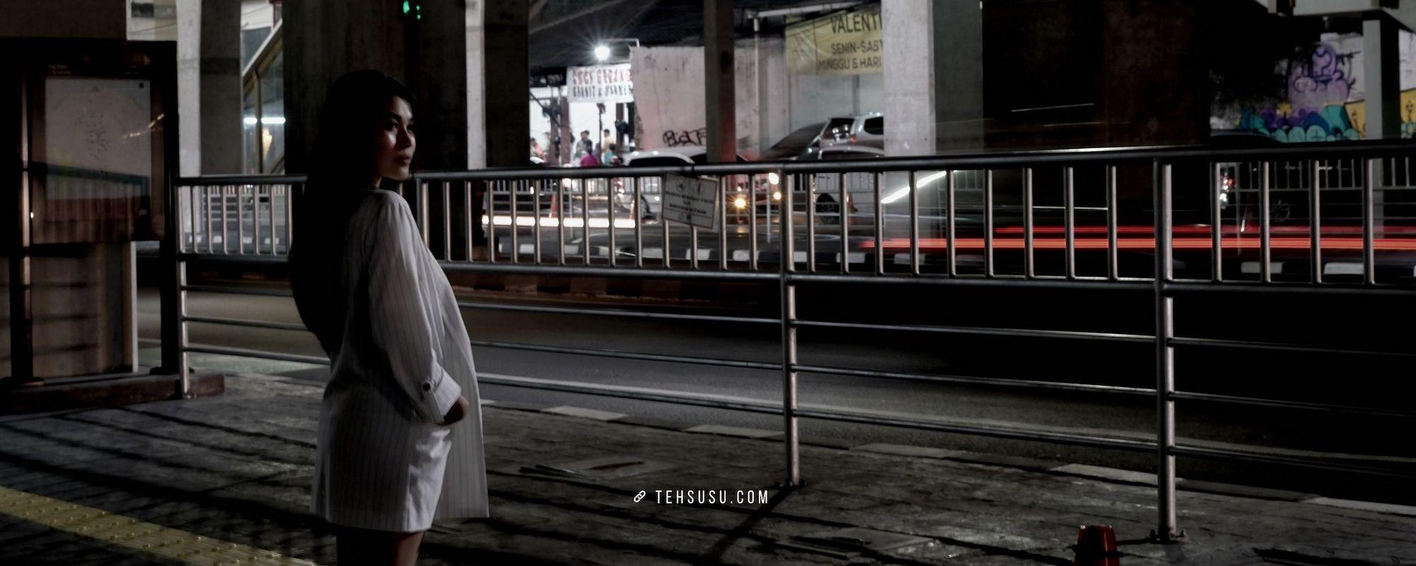 Cara Memotret Street Fashion Photography di Malam Hari