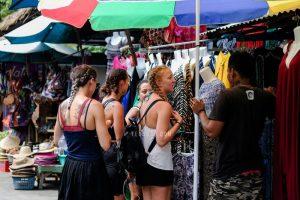 street photography turis di Bali