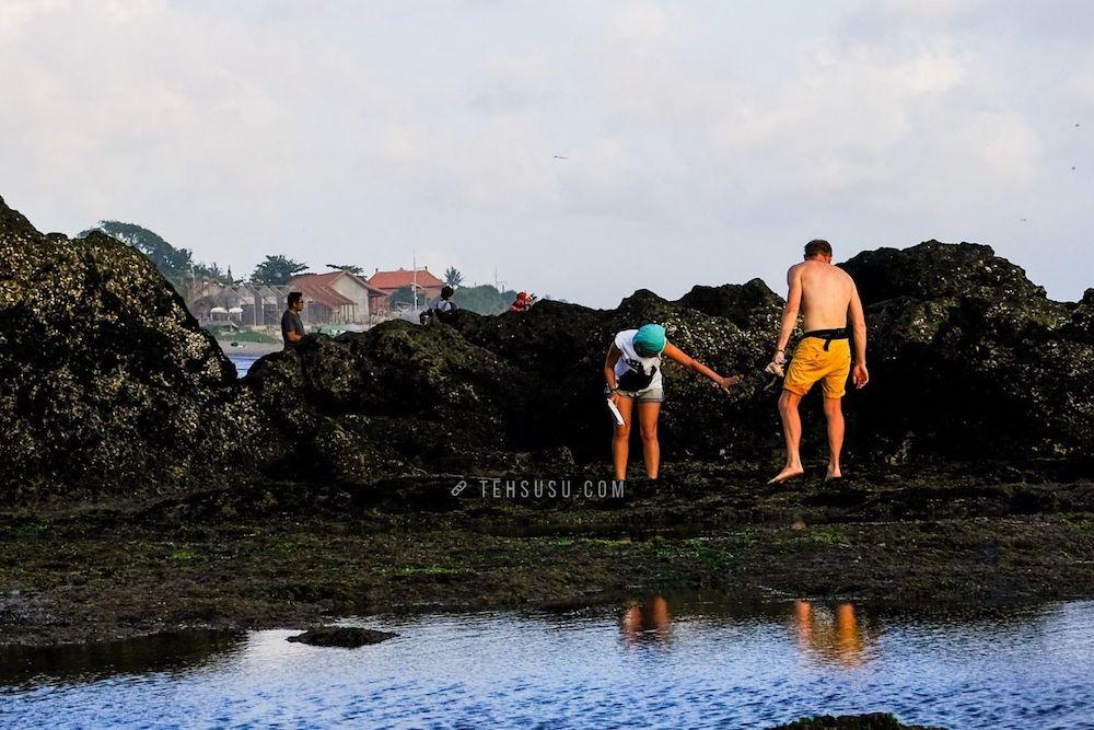 street photography di pantai