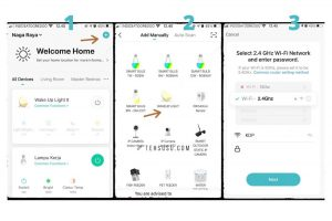 cara pemasangan bardi smart wakeup light