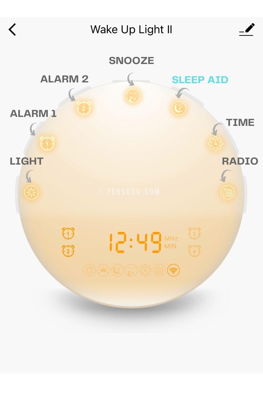 fitur bardi smart wakeup light