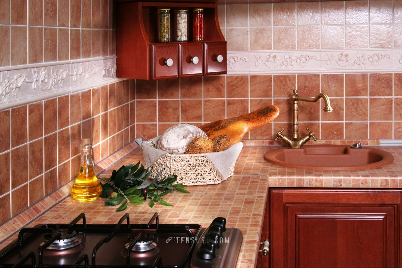 pemilihan bahan saat membangun kitchen set