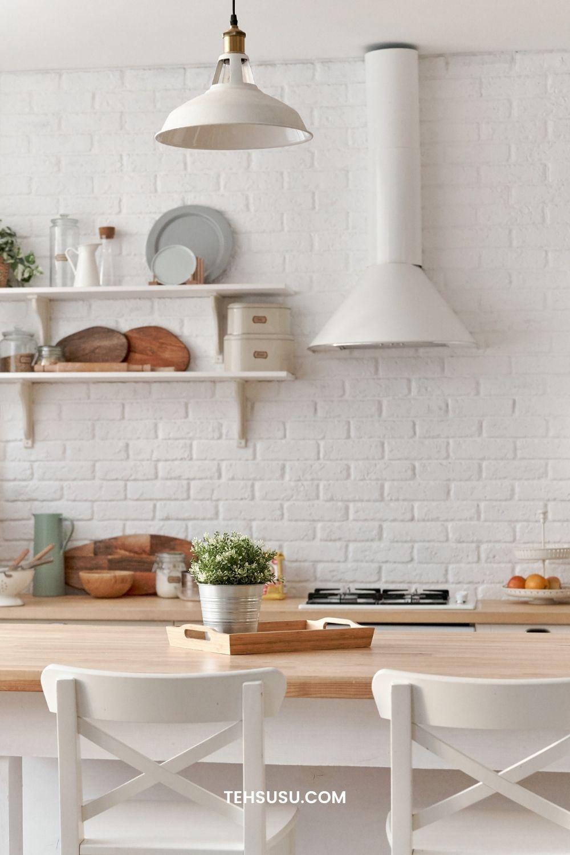 tata letak kitchen set minimalis